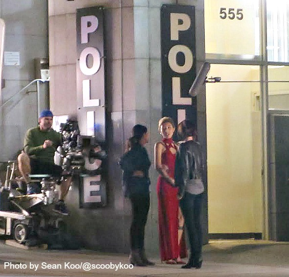 Shooting In Westminster Colorado Last Night: SHOOT: SUPERGIRL Night Shoot With Supervillain Roulette
