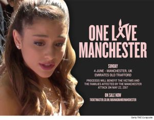 One Love Manchester Benefit Concert: Ariana Grande/Coldplay/Justin Bieber/Miley Cyrus/Katy Perry & More