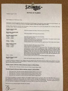 VANCOUVER: iZOMBIE in east Vancouver at 1055 Vernon Drive