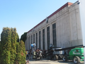 THE FLASH in Vancouver's Grandview Substation