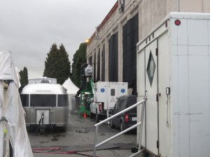 SUPERGIRL in Vancouver at Grandview Substation