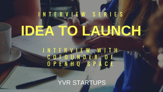 Idea to launch interview with Jacques Wong