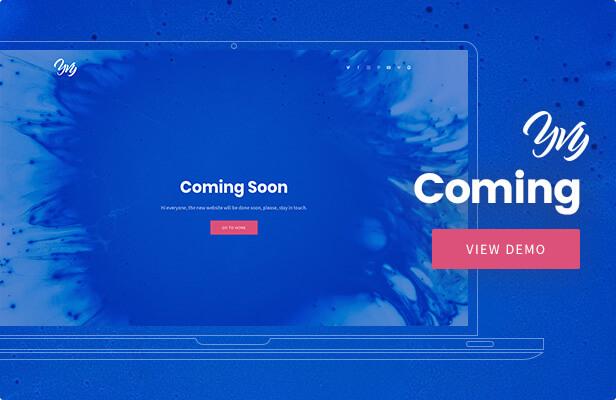 Yvy — Coming Blog/Magazine WordPress Theme