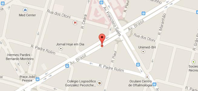 mapa localização Yehuda - contato