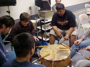 Drumming for Jesus