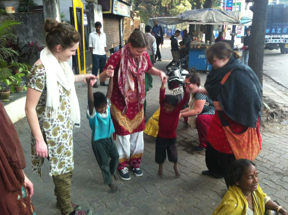 missionaries on the streets of India