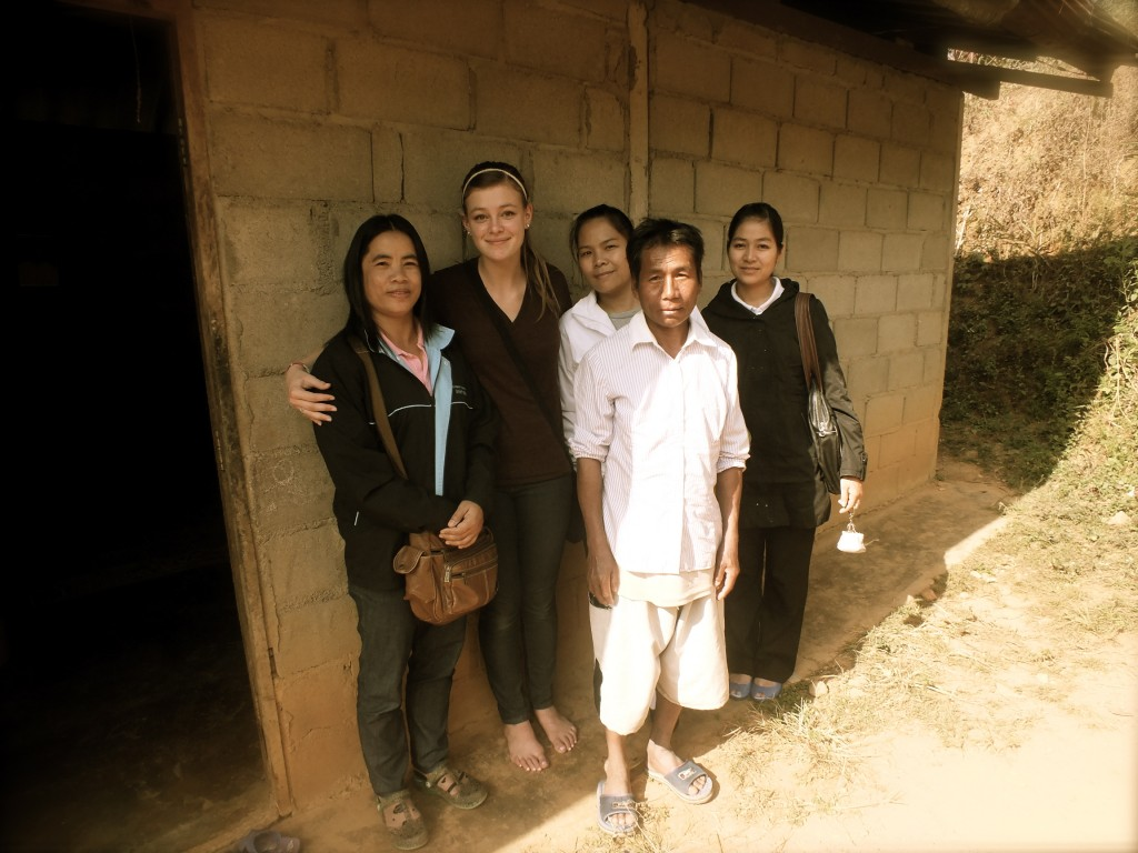 Missionary with Creel people