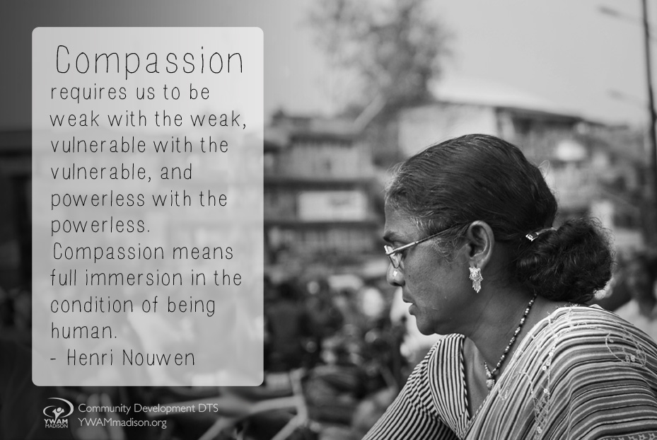 compassion requires us to...
