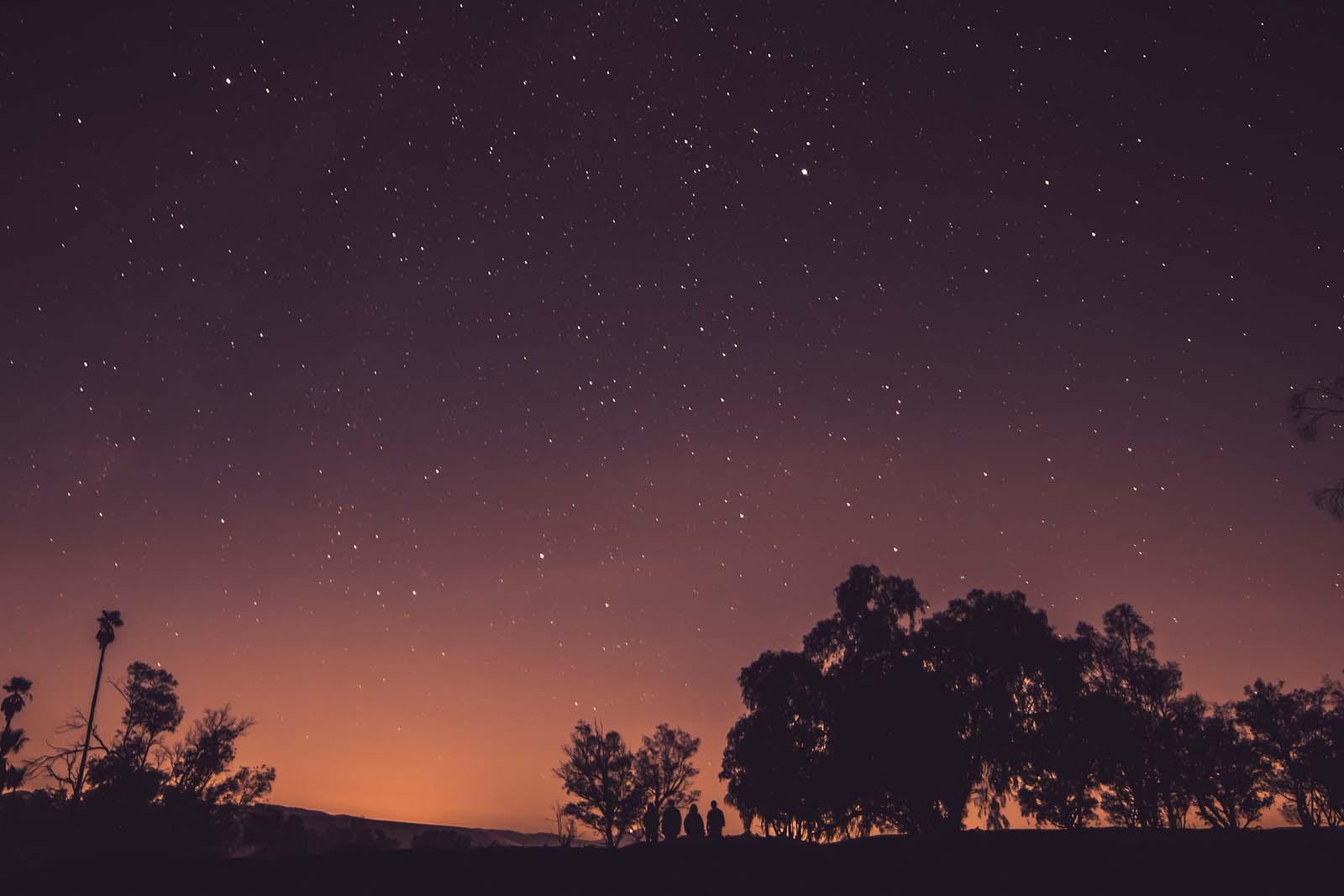 Big starry sky | YWAM Sydney, Newtown | Australia