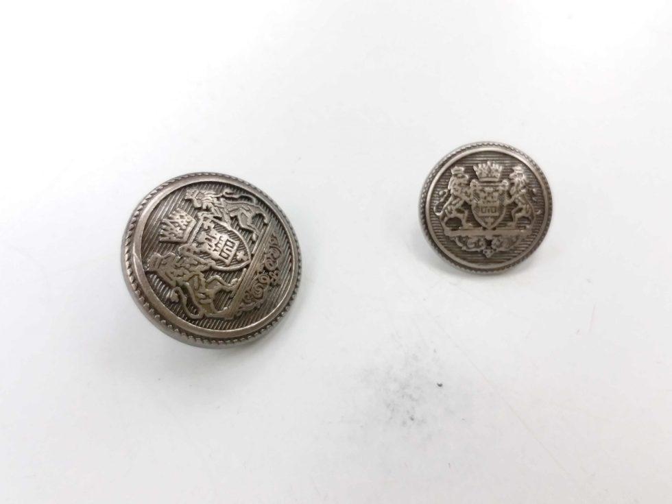 Metal Blazer Buttons - BZ106 - Dark