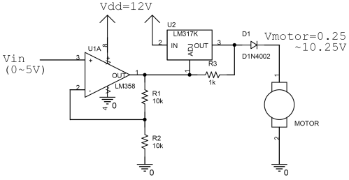 small resolution of speed controller schematic