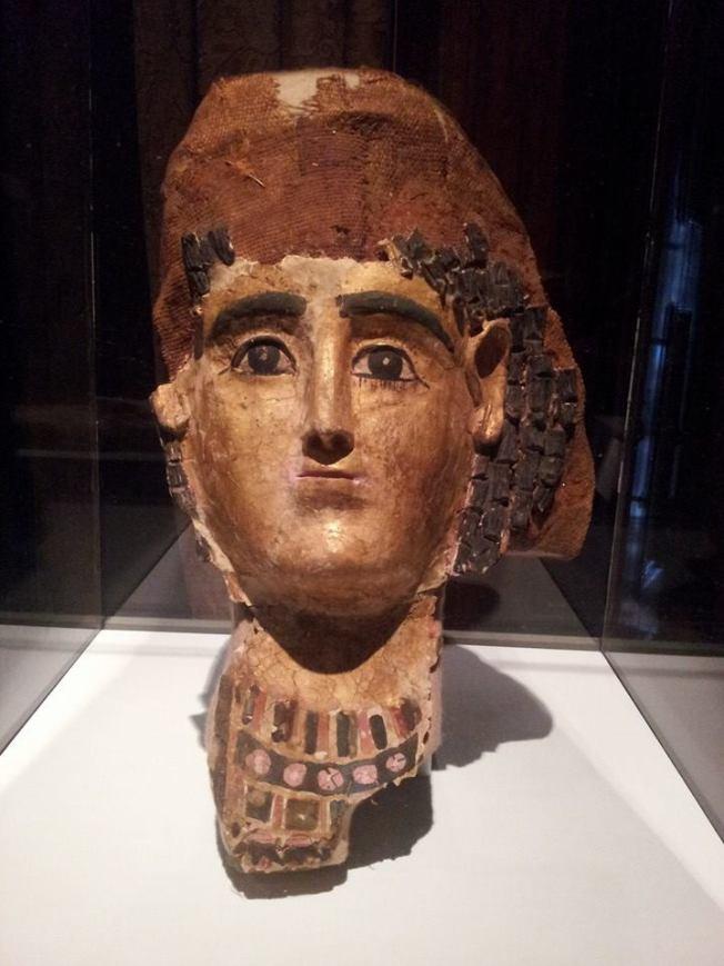 I really love this mummy mask.
