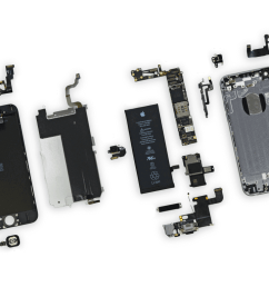 iphone 6 parts diagram 2 [ 1024 x 768 Pixel ]