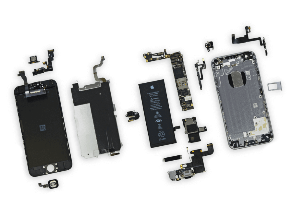 medium resolution of iphone 6 parts diagram 2
