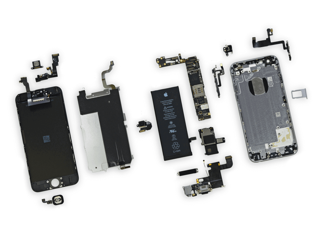 hight resolution of iphone 6 parts diagram 2