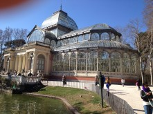An old glass pavillion