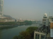 View from the place I had dimsum
