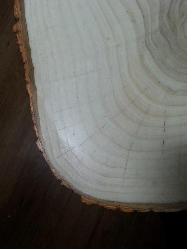 08 diy stolik z plastra drewna na trzech nóżkach hairpin legs podstawka pod kwiatka kawowy nocny pomocnik diy do it yourself jak zrobić