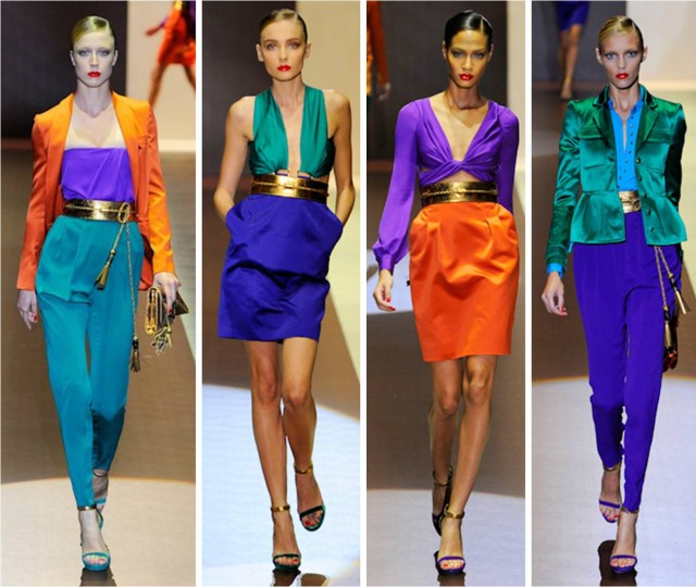 38 colour blocking moda trend