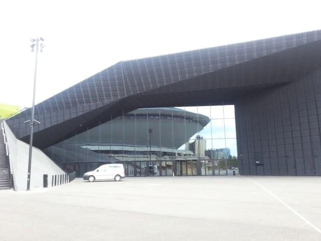 05 MCK Katowice Międzynarodowe Centrum Kongresowe plac Sławika i Antalla 1 Katowice JEMS Architekci Spodek NOSPR nowoczesna architektura geometryczne formy