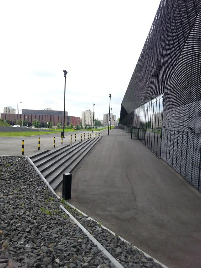 21 MCK Katowice Międzynarodowe Centrum Kongresowe plac Sławika i Antalla 1 Katowice JEMS Architekci Spodek NOSPR nowoczesna architektura geometryczne formy