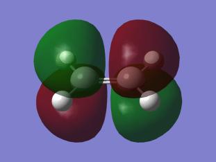 Protivazebný π-orbital ethylenu