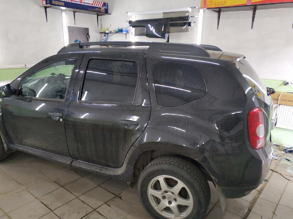 Затонировали  Renault Duster в Зеленограде