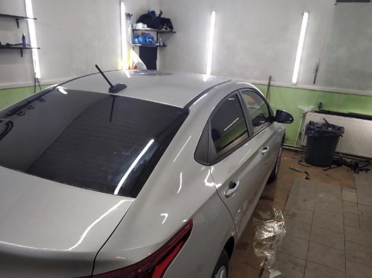 Тонировка Hyundai Solaris в Зеленограде
