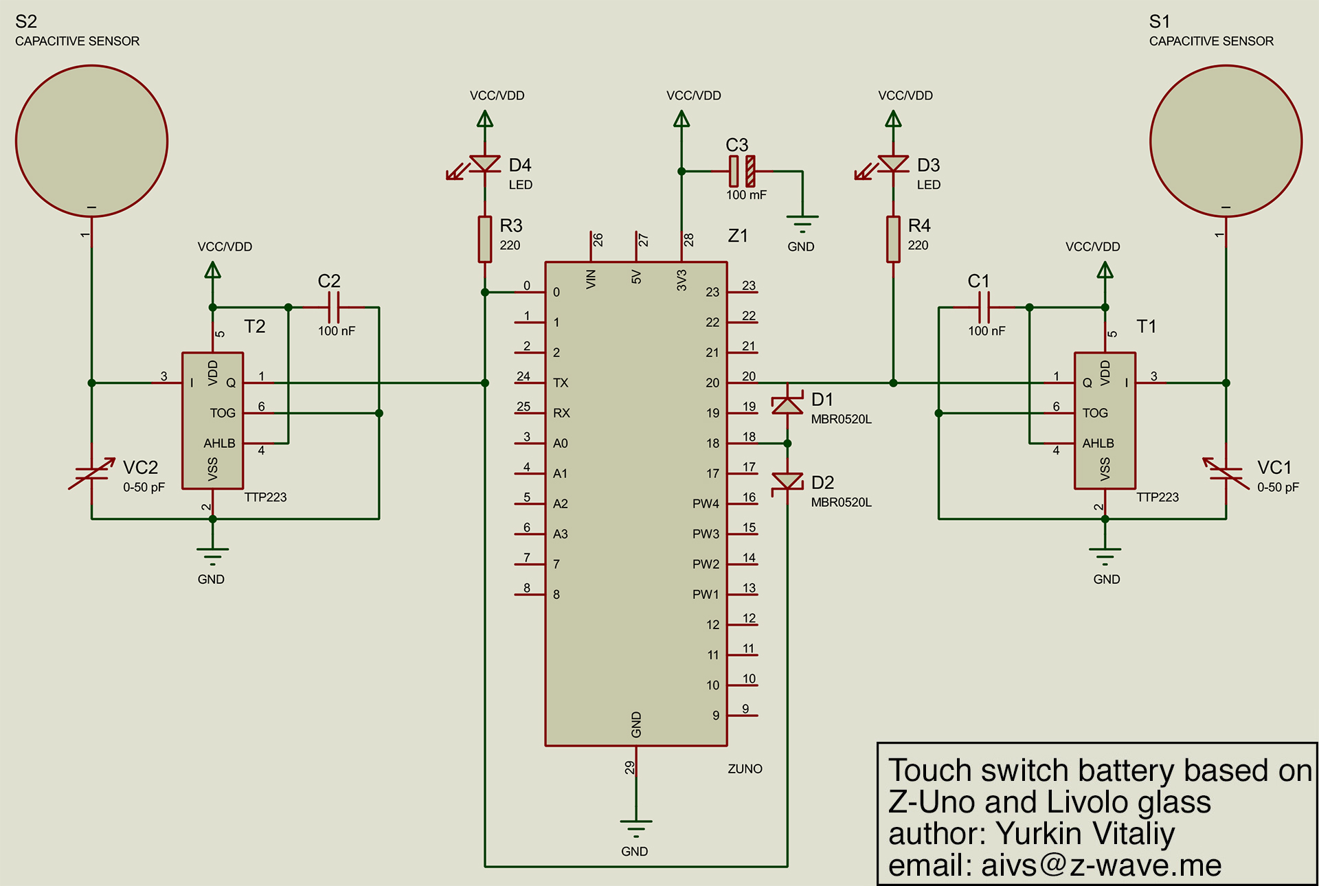 hight resolution of it is quite hard to reuse original livolo schematics so it is easier to make own