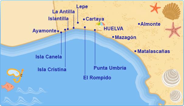 Hoteles en Costa de Huelva Costa de la Luz  Tu Hotel en