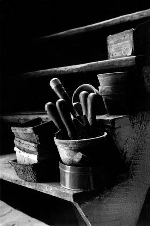 Piggots' Barn - 1969. 1.5 minutes exposure, 35mm, tri-x film.