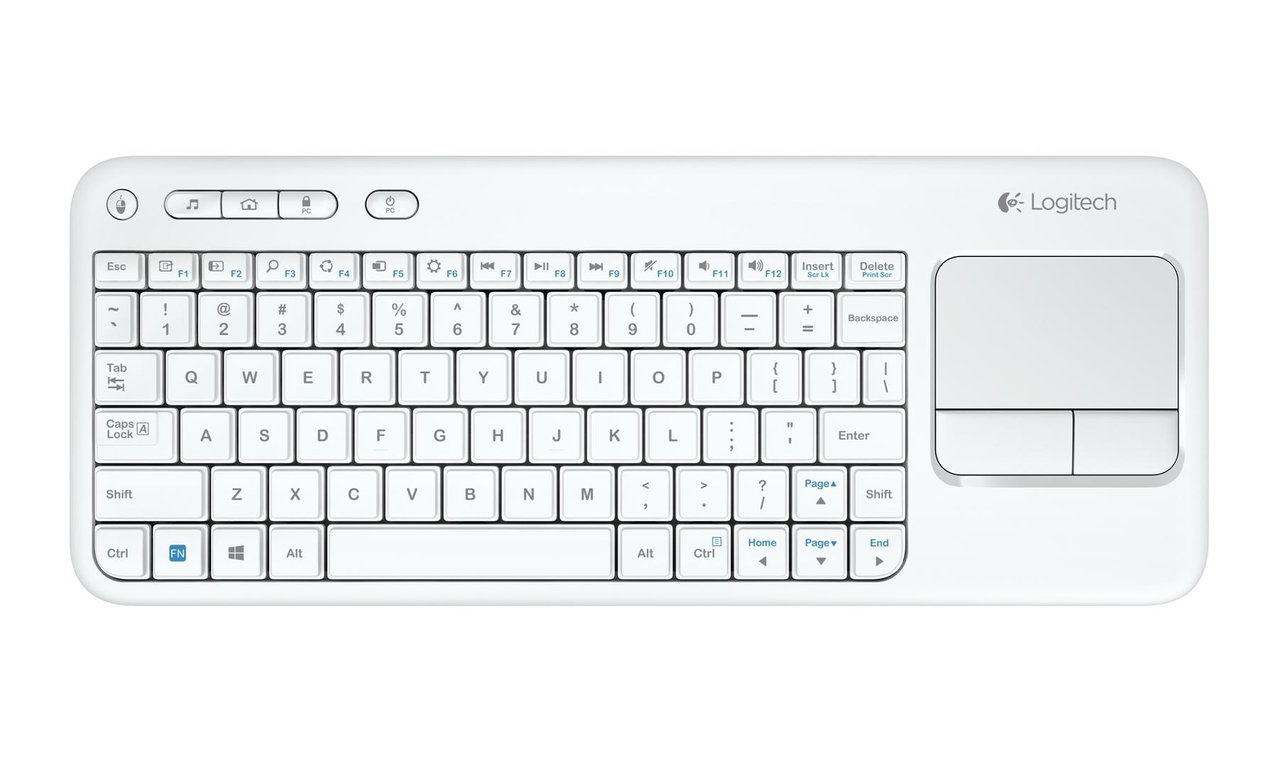Populara tastatura Logitech Wireless Touch Keyboard K400