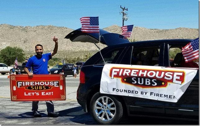 Grubstake Days 2017 Sponsor Firehouse Subs