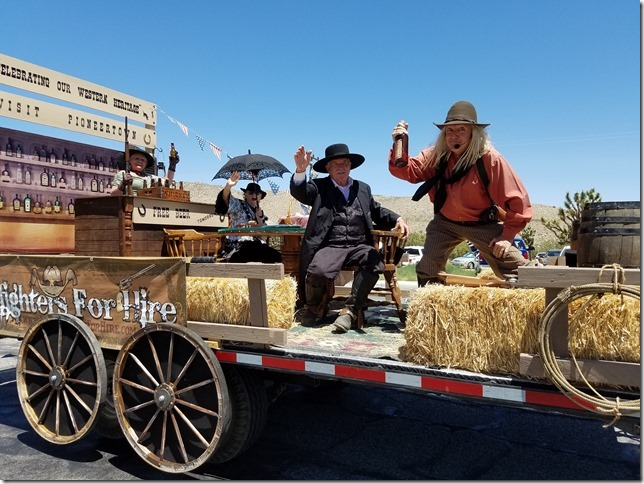 05.27.17 - Grubstake Days Parade - Gunfighters for Hire