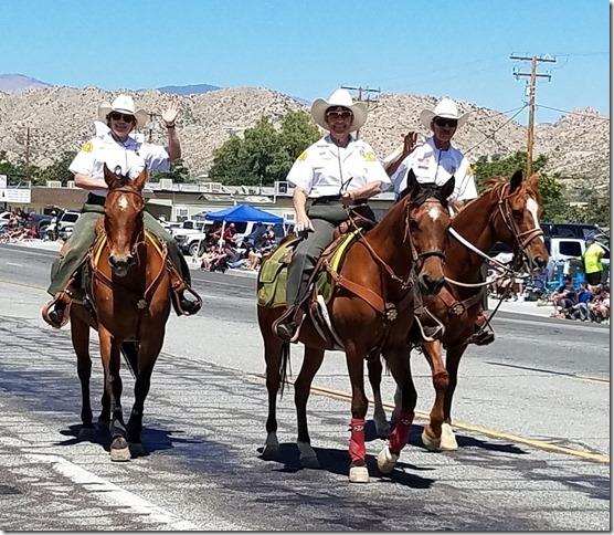 05.27.17 - Grubstake Days Parade - Morongo Basin Sheriff Horse Patrol