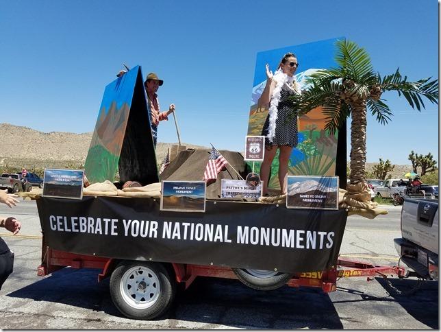 05.27.17 - Grubstake Days Parade - Mojave Desert Land Trust