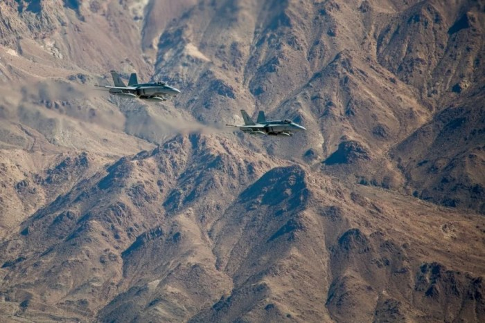 TWO MILITARY JETS COLLIDE OVER TWENTYNINE PALMS