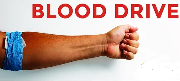 BLOOD DRIVES IN JOSHUA TREE AND YUCCA VALLEY TOMORROW