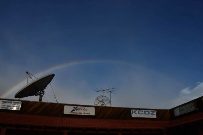 03.06.19 RAINBOW OVER THE Z107.7 STUDIOS