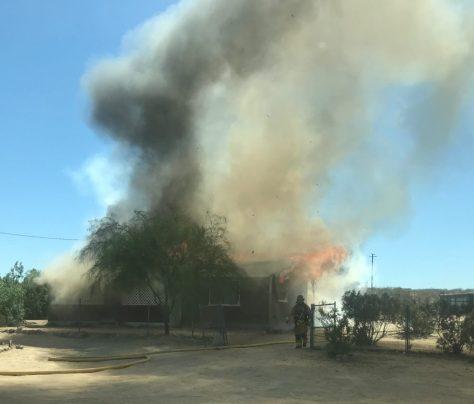 FIRE DESTROYS HOUSE IN TWENTYNINE PALMS | Z107 7 FM