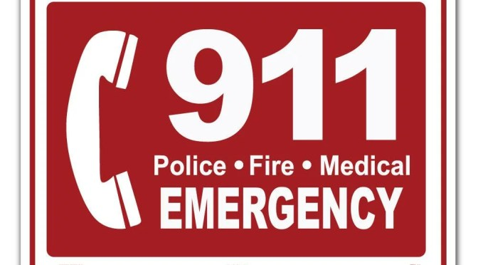 A REMINDER ABOUT PROPER USE OF 911