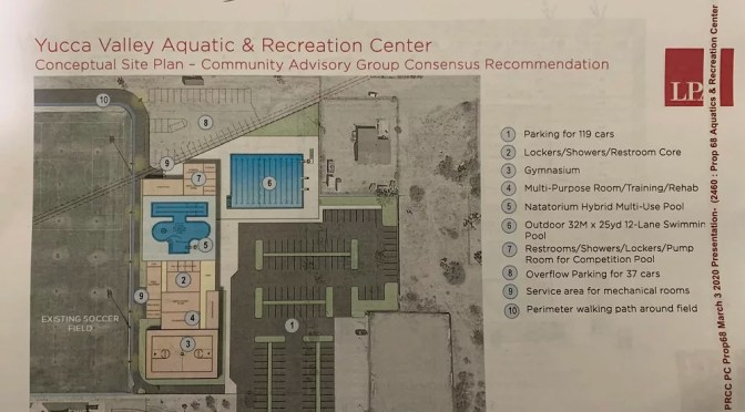 YUCCA VALLEY AQUATICS CENTER GOES TO TOWN COUNCIL FOR APPROVAL