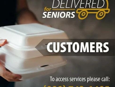 COUNTY EXPANDS FOOD DELIVERY PROGRAM FOR SENIORS