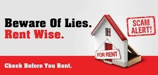 DON'T FALL VICTIM TO RENTAL SCAMS