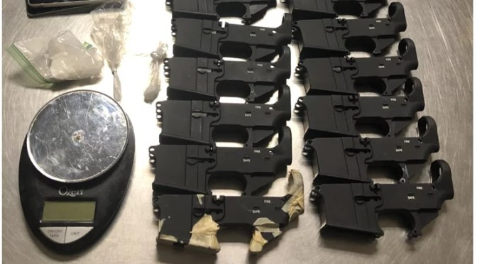 YUCCA VALLEY FELON ARRESTED WITH DRUGS AND FIREARMS DURING PROBATION COMPLIANCE CHECK