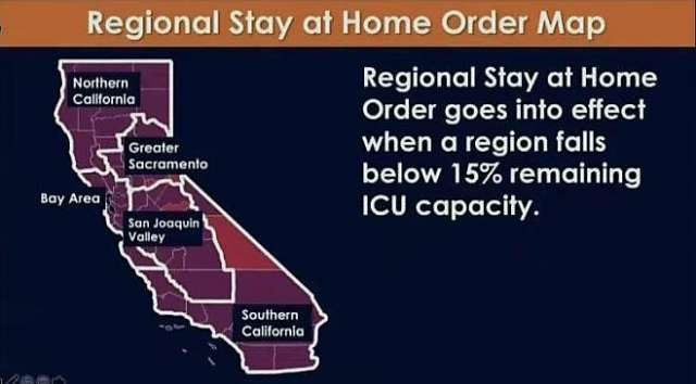 As hospitals fill, California announces new stay-at-home orders