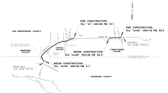 MASSIVE $48 MILLION STATE ROUTE 62 PROJECT BEGINS MONDAY