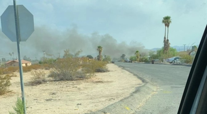 TWO INJURED, ONE DOG KILLED, IN TWENTYNINE PALMS HOUSE FIRE MONDAY