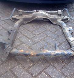 and the plates to sub frame let it sit just right once weight was on it i used corsa c 1 7 cdti sub frame as is stronger than all the other ones  [ 2048 x 1536 Pixel ]