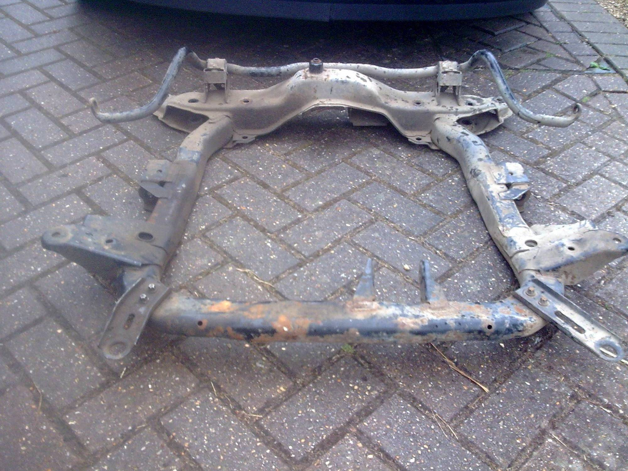 hight resolution of  and the plates to sub frame let it sit just right once weight was on it i used corsa c 1 7 cdti sub frame as is stronger than all the other ones